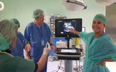 Profesionales del Hospital de Alta Resolución Guadix se forman en eco-anatomía