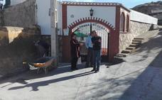 Concluyen las obras en el callejón anexo al Camino de Lugros