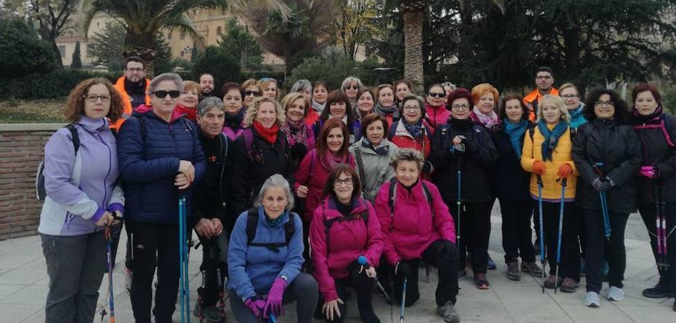 Última sesión del año del programa de senderismo para mujeres