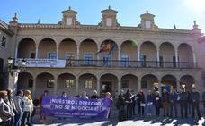 Guadix no falla a su cita contra la violencia de género