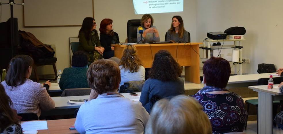 Una treintena de mujeres accitanas participan en el proyecto de formación creativa y vivencial 'Salud-fem'