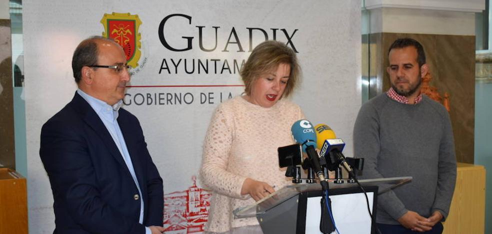Ayuntamiento y Aguas de Guadix renuevan parte de la conducción desde la captación del Valle del Zalabí