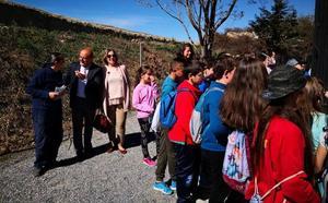 Escolares de los centros educativos de primaria de Guadix visitan la Estación Depuradora de Aguas Residuales