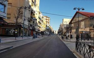 Los trabajos de pintura de la Avenida Medina Olmos se realizarán la noche del martes y del miércoles