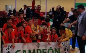 Granada se proclama campeona del IX Campeonato de Andalucía de Fútbol Sala Benjamín