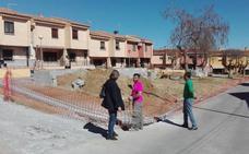 Avanzan las obras con cargo al PFEA en las calles Úbeda y Albox de la Barriada de Andalucía