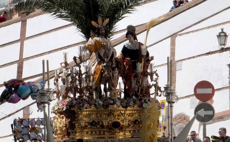 La Borriquilla se pasea por Guadix
