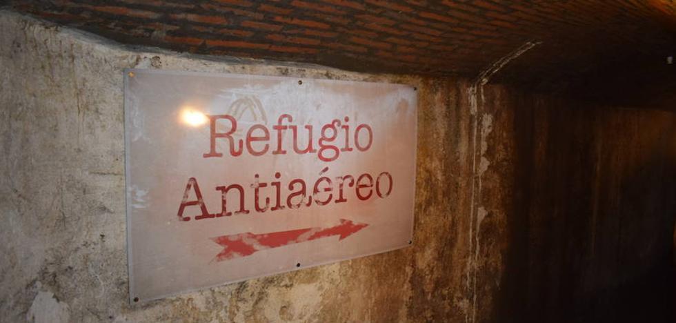El refugio antiaéreo se podrá visitar gratuitamente durante la Semana Santa a partir de las ocho y media de la tarde