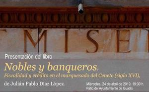 Las actividades del Día del Libro continúan con la presentación del libro 'Nobles y banqueros: fiscalidad y crédito en el Marquesado del Cenete (siglo XVI)'