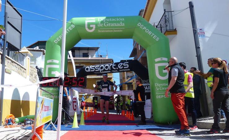 José Puertas y Graci Iañez vencen en el Reto 51x13 en La Peza
