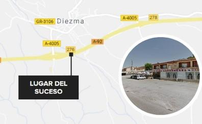 21 horas 'tirados' en un área de servicio de Diezma por la avería de un autobús