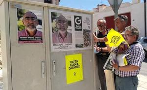 La candidatura de Gana Guadix, encabezada por Eduardo Jiménez, visita los barrios de cuevas