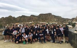 Estudiantes de Málaga visitan Guadix