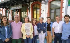 Inmaculada Olea apuesta por la recuperación de «Guadix como referente ferroviario»