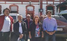 Adelante Guadix, coalición formada por Izquierda Unida y Podemos, anuncian sus propuestas para el barrio de la Estación