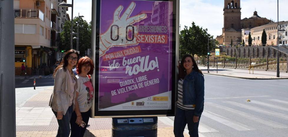 Guadix quiere ser una ciudad de buen rollo con 0'0 agresiones sexistas