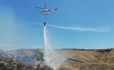 Extinguido un incendio forestal en las cercanías de Baños de Graena