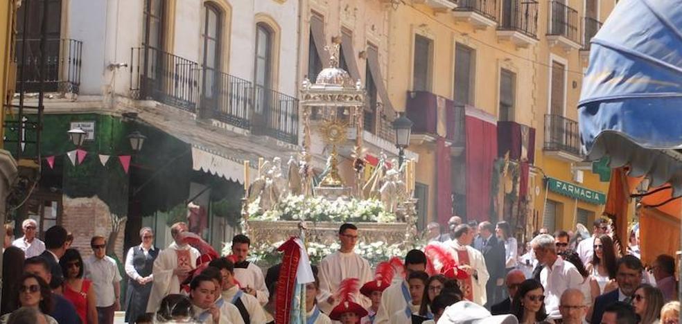 Guadix celebra la solemnidad del Corpus Christi