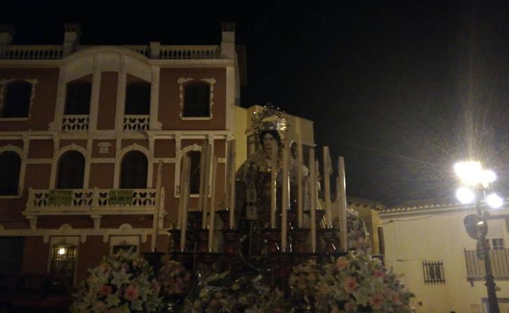 Procesión de la Virgen del Carmen en Guadix