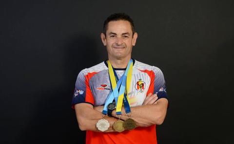 El Ayuntamiento de Guadix felicita a Miguel Ángel Peinado por su éxito en los Mundiales de Policías y Bomberos celebrados en China