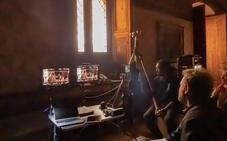 La serie 'Inés del Alma Mía' se rueda en La Calahorra