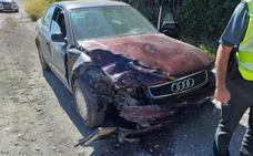 La Policía Local actúa con rapidez en un accidente ocurrido frente al Hospital de Guadix