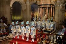 Los seises vuelven a danzar ante la Inmaculada