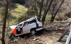 Cuatro heridos en un accidente de tráfico cerca de La Peza