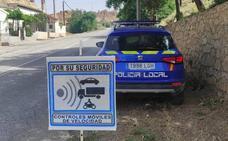 Radares móviles en Guadix para controlar el cumplimiento del nuevo límite de velocidad