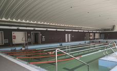 La piscina cubierta de Guadix, construida hace tres años, sigue cerrada