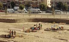 Continúan las excavaciones del Teatro Romano de Guadix
