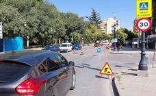 Las obras en tres zonas de Guadix dificultan el tráfico en el municipio