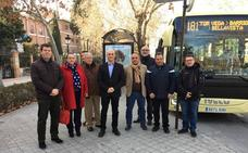Huétor Vega: la línea 181 incorpora un autobús de alta tecnología
