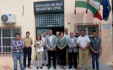 La Junta alaba el trabajo de los juzgados de paz en el área metropolitana