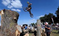 El trial bici hueteño, inspirado en septiembre