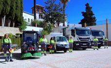 Huétor Vega incorpora camiones de la basura «más sostenibles»