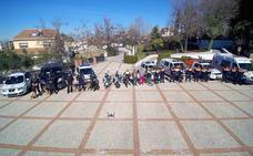 Policía Local y Protección Civil de Huétor Vega mejoran su dotación: perros, un dron y agentes en bici