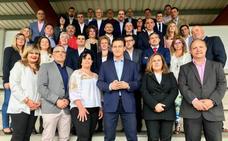 Los candidatos metropolitanos de Cs suscriben un decálogo para el desarrollo urbano de Granada