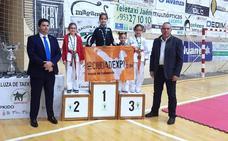 El club Del Paso Kungang logra un reguero de medallas en el campeonato infantil en técnica