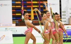 Los amantes de la gimnasia rítmica tienen cita doble este fin de semana en Huétor Vega
