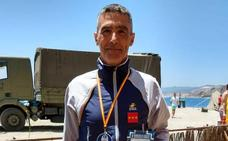 El nadador Ángel Blázquez, del Huétor Vega, octavo en la Vuelta a Ceuta Comandancia General