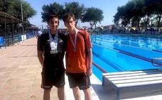 Los hueteños Rodríguez y Rivas logran sendos oros en el Campeonato de Andalucía