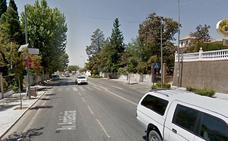 Un coche colisiona con una moto en la avenida de Andalucía de Huétor
