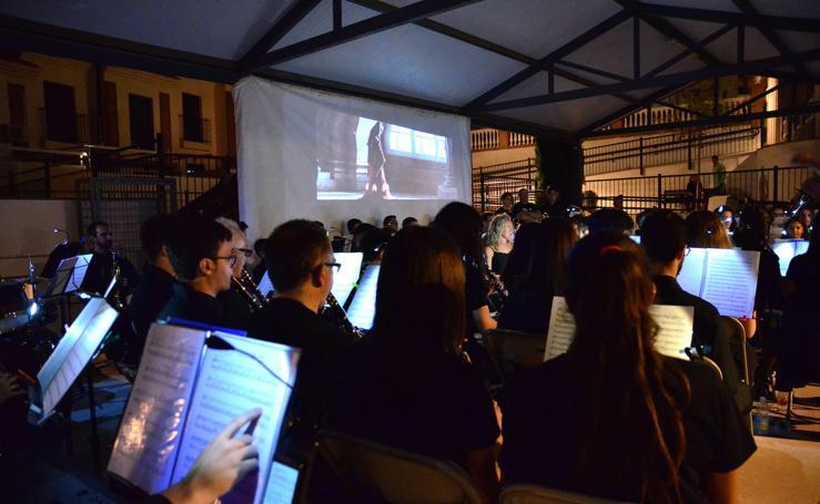 La plaza de Huétor Vega que suena de cine