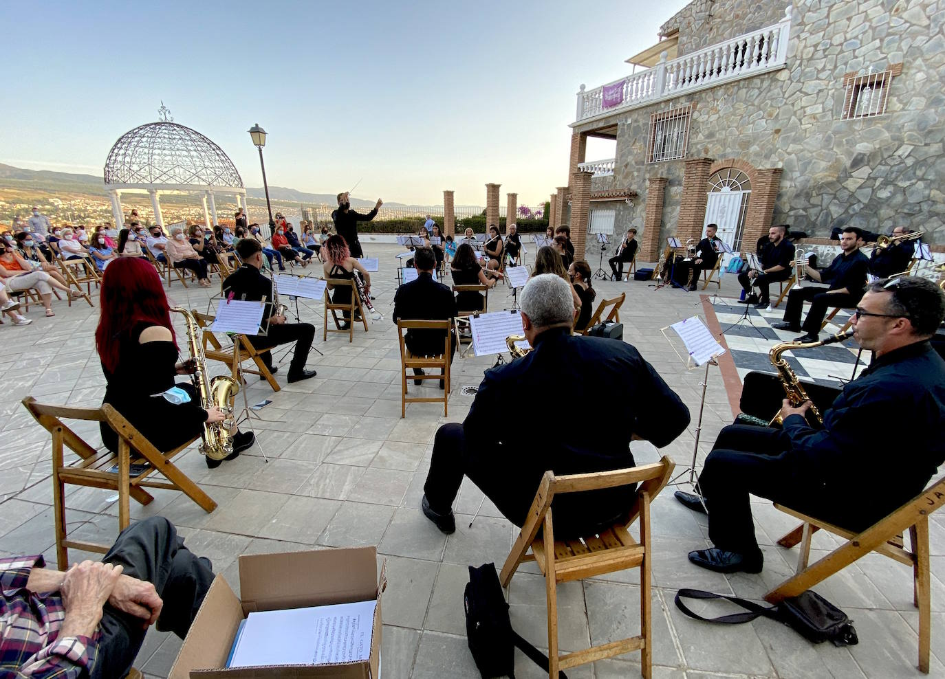 Concierto de Corpus de la Banda de Música de Huétor Vega