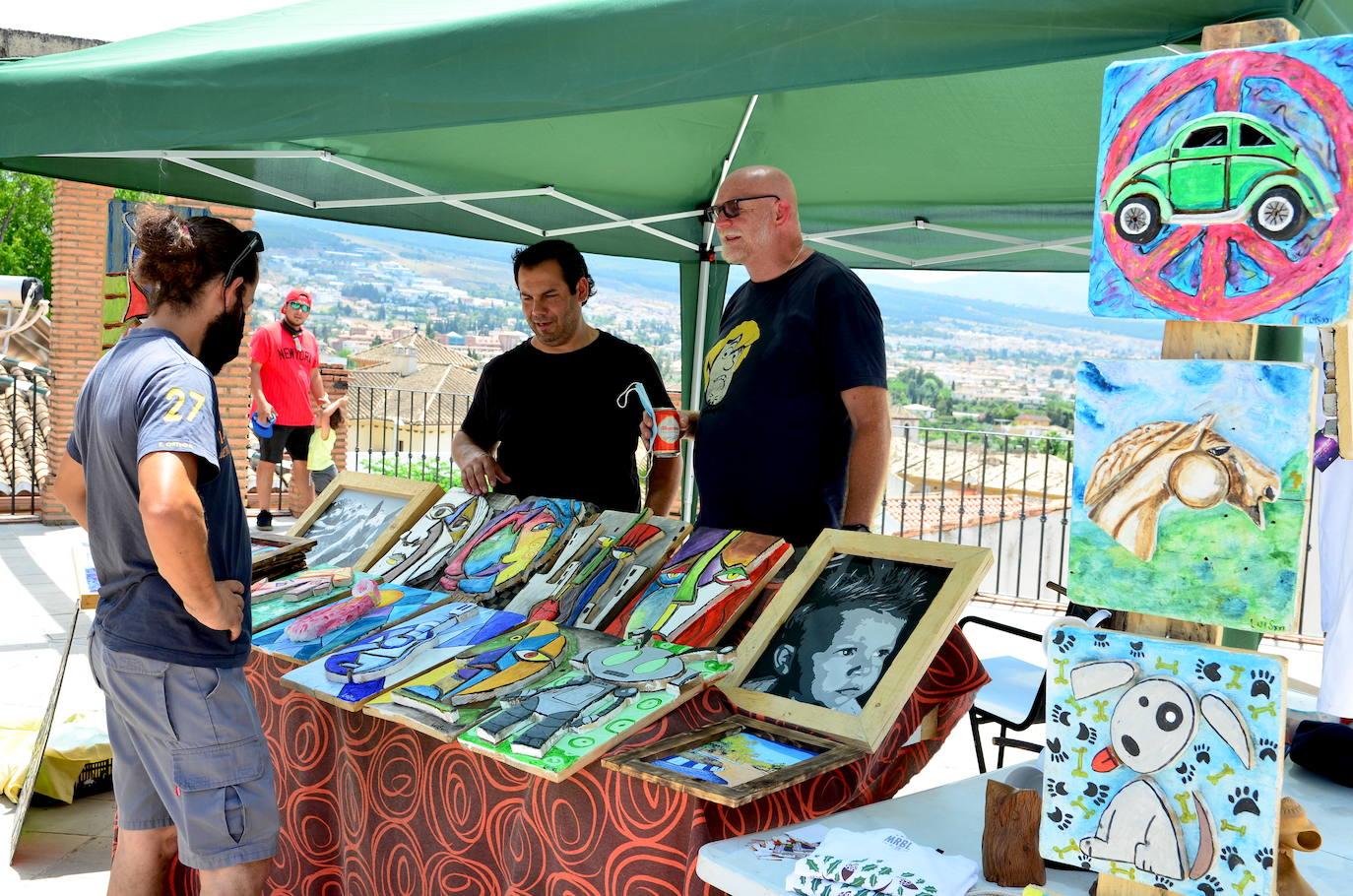 Primera Feria de Artesanos de Huétor Vega