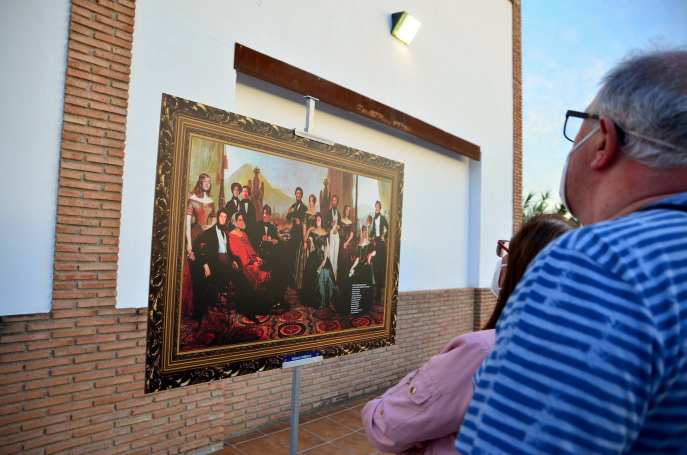 Inauguración de la muestra 'Linajes de Huétor Vega'