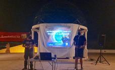 IU invitó a Huétor Vega a contemplar las constelaciones en agosto