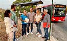 El PSOE de Huétor Vega denuncia que el transporte público excluye a personas con movilidad reducida