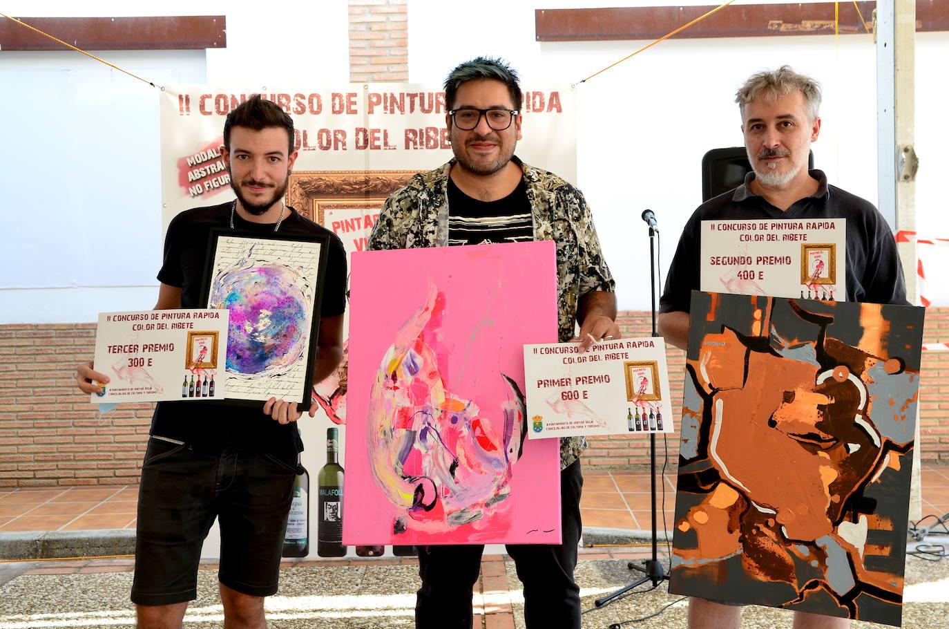 Concurso de pintura rápida abstracta de Huétor Vega
